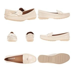 COACH Woman's Odette Casual Patent Leather Loafers